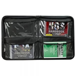 A kit with DOT and FMCSA compliance essentials