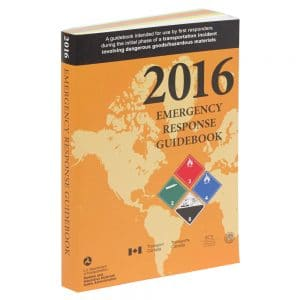The 2016 Emergency Response Guidebook