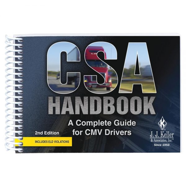 Handbook for CMV drivers that goes over ELD (electronic logging devices) regulations